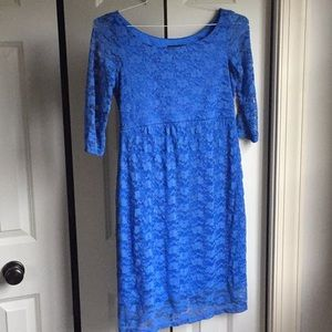 Dresses & Skirts - Lace maternity dress. New with tags.